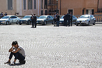 Unknown, Journalist; Politicians's police escorts (Aka Scorte). <br /> <br /> Rome, 01/05/2019. This year I will not go to a MayDay Parade, I will not photograph Red flags, trade unionists, activists, thousands of members of the public marching, celebrating, chanting, fighting, marking the International Worker's Day. This year, I decided to show some of the Workers I had the chance to meet and document while at Work. This Story is dedicated to all the people who work, to all the People who are struggling to find a job, to the underpaid, to the exploited, and to the people who work in slave conditions, another way is really possible, and it is not the usual meaningless slogan: MAKE MAYDAY EVERYDAY!<br /> <br /> Happy International Workers Day, long live MayDay!
