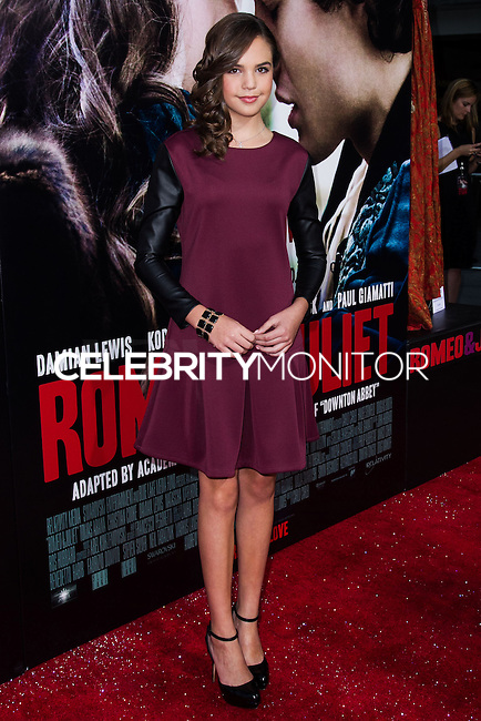 "HOLLYWOOD, CA - SEPTEMBER 24: Premiere Of Relativity Media's ""Romeo & Juliet"" held at ArcLight Hollywood on September 24, 2013 in Hollywood, California. (Photo by Uki Ninam/Celebrity Monitor)"
