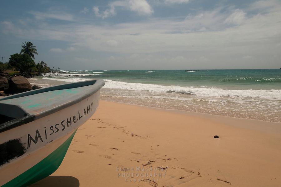 Scenic beach view, Big Corn Island, Nicaragua