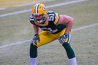 Green Bay Packers linebacker Kyler Fackrell (51) prior to a game against the New York Giants on January 8th, 2017 at Lambeau Field in Green Bay, Wisconsin.  Green Bay defeated New York 38-13. (Brad Krause/Krause Sports Photography)