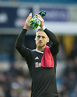 Brentford Daniel Bentley after the Sky Bet Championship match between Millwall and Brentford at The Den, London, England on 10 March 2018. Photo by Andrew Aleksiejczuk / PRiME Media Images.