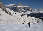 Col Rodella Ski Area above Canazei, Dolomites, Italy, Europe 2014, .  John offers private photo tours in Denver, Boulder and throughout Colorado, USA.  Year-round. .  John offers private photo tours in Denver, Boulder and throughout Colorado. Year-round.