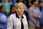 23 March 2015: UNC head coach Sylvia Hatchell. The University of North Carolina Tar Heels hosted the Ohio State University Buckeyes at Carmichael Arena in Chapel Hill, North Carolina in a 2014-15 NCAA Division I Women's Basketball Tournament second round game. UNC won the game 86-84.