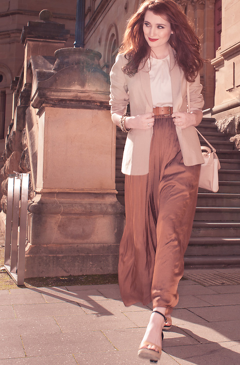 Kendra from Tanya Powell Modeling Agency on North Tce Adelaide South Australia. Sunday Mail Fashion with Mirella.