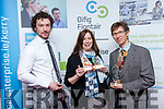 Kerry Local Enterprise Awards held at Manor West Hotel on Friday  winners were  Joseph Moynihan, Managing Director at JM Agri-Design, Innovation Award, Karen Mahony and Alex Ukolov from Bababarock Ltd Killarney, Export Award,