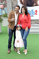 "LOS ANGELES - JUN 2:  Eugenio Derbez, Aitana Derbez, Alessandra Rosaldo at the ""The Secret Life of Pets 2"" Premiere at the Village Theater on June 2, 2019 in Westwood, CA"