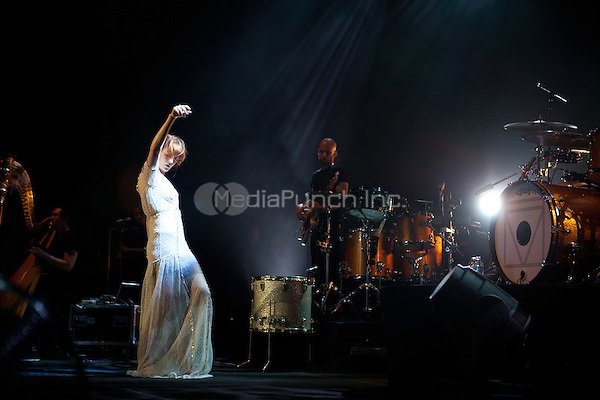 DETROIT, MI - JULY 31, 2012: Florence & The Machine in caoncert at The Fox Theatre in Detroit, Michigan. July 31, 2012. Credit MediaPunch Inc.