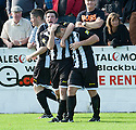 Fraserburgh's Scott Barbour scores their first goal.