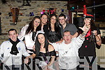 Maggie May Coffey Killorglin seated centre celebrates her 21st birthday with her friends in Kingston's bar, Killorglin on Saturday night.