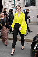 NEW YORK, NY - FEBRUARY 11: Emily DiDonato  seen at Carolina Herrera NYFW 2019 on February 11, 2019 in New York City. Credit: DC/MediaPunch