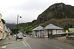 Modern building development including tourist information office,  Blaenau Ffestiniog, Gwynedd, north Wales, UK