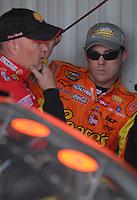 May 4, 2007; Richmond, VA, USA; Nascar Nextel Cup Series driver Kevin Harvick (29) during practice for the Jim Stewart 400 at Richmond International Raceway. Mandatory Credit: Mark J. Rebilas