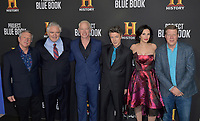 "03 January 2019 - Los Angeles, California - ichael Harney, Neal McDonough, Aidan Gillen, Laura Mennell. ""Project Blue Book"" History Scripted Series Los Angeles Premiere held at Simon House. Photo Credit: AdMedia"