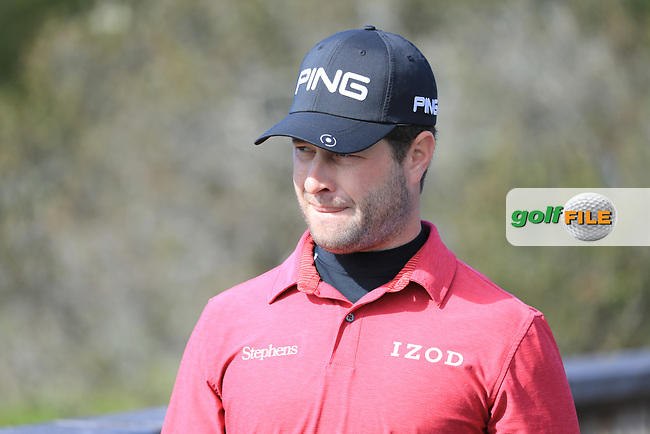 David Lingmerth (SWE) during the first round of the AT&amp;T Pro-Am, Pebble Beach Golf Links, Monterey, California, USA. 07/02/2019<br /> Picture: Golffile | Phil Inglis<br /> <br /> <br /> All photo usage must carry mandatory copyright credit (&copy; Golffile | Phil Inglis)