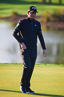 Emiliano Grillo (ARG) after sinking his par putt on 1 during round 1 of the Honda Classic, PGA National, Palm Beach Gardens, West Palm Beach, Florida, USA. 2/23/2017.<br /> Picture: Golffile | Ken Murray<br /> <br /> <br /> All photo usage must carry mandatory copyright credit (&copy; Golffile | Ken Murray)