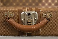 Willard Suitcases / LaVern W / ©2014 Jon Crispin