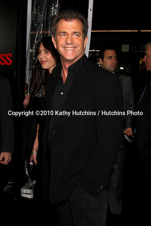 "Mel Gibson .arriving at the premiere of the ""Edge of Darkness"".Grauman's Chinese Theater.Los Angeles, CA.January 26, 2010.©2010 Kathy Hutchins / Hutchins Photo...."