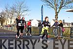 Jane Costello, Linda O'Shea Aisling Quilter  at the Valentines 10 mile road race in Tralee on Saturday.