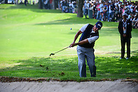Phil Mickelson (USA) chips on 7 during round 4 of the World Golf Championships, Mexico, Club De Golf Chapultepec, Mexico City, Mexico. 3/5/2017.<br /> Picture: Golffile | Ken Murray<br /> <br /> <br /> All photo usage must carry mandatory copyright credit (&copy; Golffile | Ken Murray)