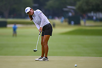 Gina Kim (a)(USA) watches her putt on 4 during round 3 of the 2019 US Women's Open, Charleston Country Club, Charleston, South Carolina,  USA. 6/1/2019.<br /> Picture: Golffile | Ken Murray<br /> <br /> All photo usage must carry mandatory copyright credit (© Golffile | Ken Murray)