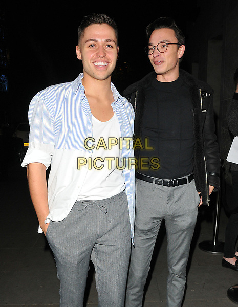 Jack and Joel ( Jack Remington and Joel Fishel ) at the LOTD x Louise Thompson womenswear collection launch party, STK London, ME London Hotel, The Strand, London, England, UK, on Tuesday 21 November 2017.<br /> CAP/CAN<br /> &copy;CAN/Capital Pictures