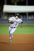 Siena Saints center fielder Dan Swain (22) running the bases during a game against the UCF Knights on February 17, 2017 at UCF Baseball Complex in Orlando, Florida.  UCF defeated Siena 17-6.  (Mike Janes/Four Seam Images)
