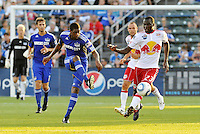 Craig Rocastle, Tony Tchani #23,..Kansas City were defeated 3-0 by New York Red Bulls at Community America Ballpark, Kansas City, Kansas.