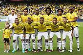 El equipo de Colombia antes del partido de eliminatorias para el Mundial de F&uacute;tbol 2018 contra Uruguay en el Estadio Metropolitano Roberto Melendez de Barranquilla el 11 de octubre de 2016.<br /> <br /> Foto: Archivolatino<br /> <br /> COPYRIGHT: Archivolatino<br /> Prohibido su uso sin autorizaci&oacute;n.
