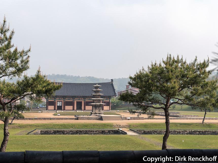 buddhistischer Tempel JeongmiSa  in Buyeo, Provinz Chungcheongnam-do, S&uuml;dkorea, Asien, UNESCO-Weltkulturerbe<br /> buddhist temple JeongmiSa in Buyeo province Chungcheongnam-do, South Korea, Asia, UNESCO world-heritage
