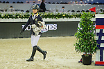 Walk the course before the EEM Trophy competition during the Longines Masters of Hong Kong on 10 February 2017 at the Asia World Expo in Hong Kong, China. Photo by Juan Serrano / Power Sport Images