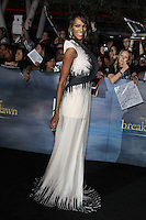 LOS ANGELES, CA - NOVEMBER 12: Judith Shekoni at the premiere of Summit Entertainment's 'The Twilight Saga: Breaking Dawn - Part 2' at the Nokia Theatre L.A. Live on November 12, 2012 in Los Angeles, California. Credit: mpi29/MediaPunch Inc. /NortePhoto