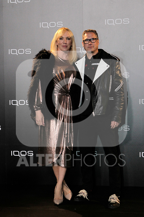 Topacio Fresh attends to IQOS3 presentation at Palacio de Cibeles in Madrid. February 10,2019. (ALTERPHOTOS/Alconada)
