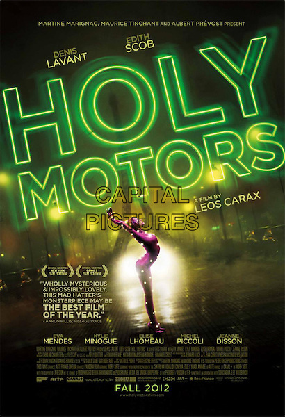 AMERICAN POSTER ART.in Holy Motors (2012).*Filmstill - Editorial Use Only*.CAP/FB.Supplied by Capital Pictures.