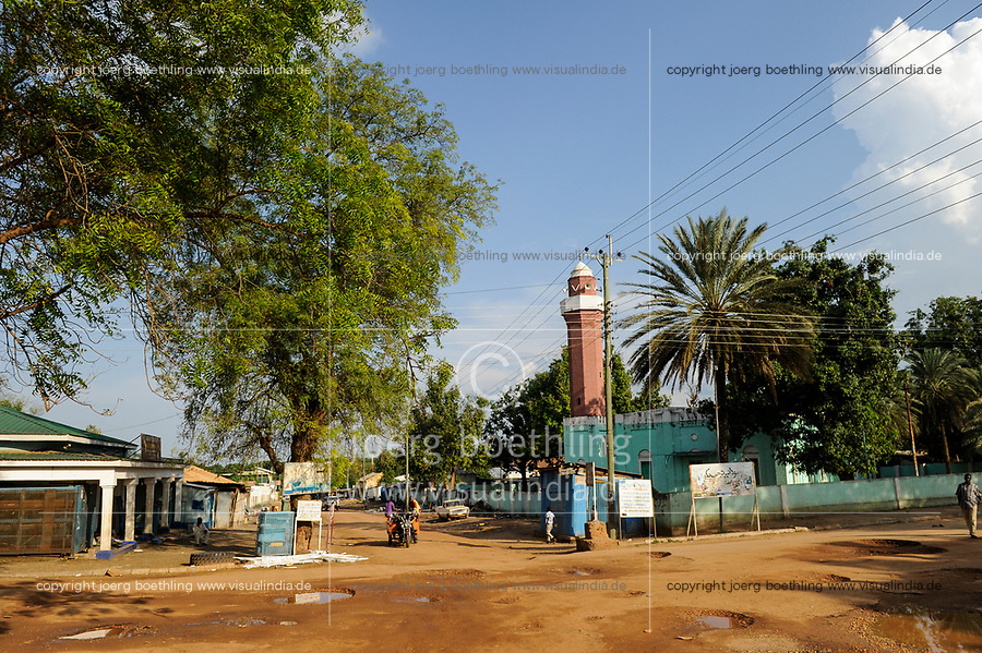SOUTH SUDAN, capital city Juba, mosque / SUED-SUDAN  Hauptstadt Juba, Moschee