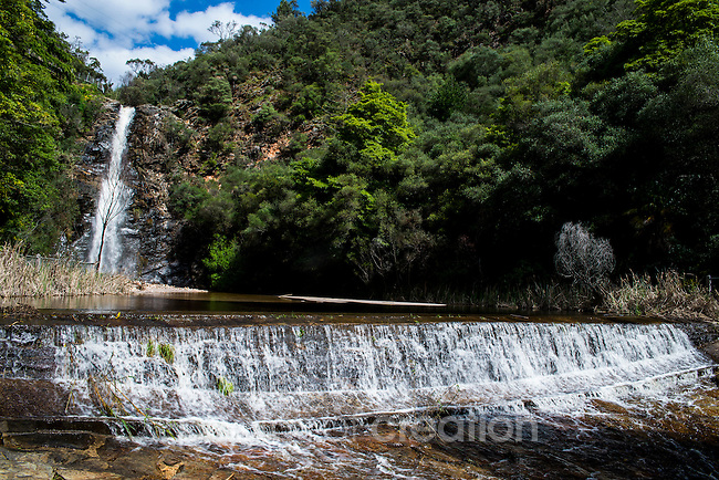 Waterfall and weir