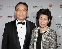 NEW YORK, NY - NOVEMBER 19: Dr. Kim In-Kyu at the 40th International Emmy Awards in New York. November 19, 2012. © Diego Corredor/MediaPunch Inc. /NortePhoto