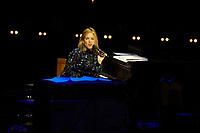 Los Angeles, CA - NOV 07:  Diana Krall performs at 'Joni 75: A Birthday Celebration Live At The Dorothy Chandler Pavilion' on November 07 2018 in Los Angeles CA. Credit: CraSH/imageSPACE/MediaPunch