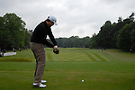 Marcus Fraser drives off on the opening hole during the final round of the BMW PGA Championship at Wentworth Club, Surrey, England 27th May 2007 (Photo by Eoin Clarke/NEWSFILE)