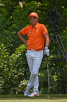 Rickie Fowler (USA) looks over his tee shot on 8 during round 4 of the Fort Worth Invitational, The Colonial, at Fort Worth, Texas, USA. 5/27/2018.<br /> Picture: Golffile | Ken Murray<br /> <br /> All photo usage must carry mandatory copyright credit (© Golffile | Ken Murray)