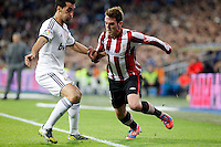 Real Madrid CF vs Athletic Club de Bilbao (5-1) at Santiago Bernabeu stadium. The picture shows Alvaro Arbeloa and Ibai Gomez. November 17, 2012. (ALTERPHOTOS/Caro Marin) NortePhoto