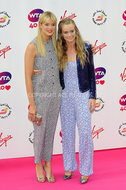 WWW.ACEPIXS.COM<br /> <br /> US Sales Only<br /> <br /> June 20 2013, London<br /> <br /> Isabella Branson and Cressida Bonas at the Pre-Wimbledon Party at Kensington Roof Gardens on June 20 2013 in London <br /> <br /> By Line: Famous/ACE Pictures<br /> <br /> <br /> ACE Pictures, Inc.<br /> tel: 646 769 0430<br /> Email: info@acepixs.com<br /> www.acepixs.com
