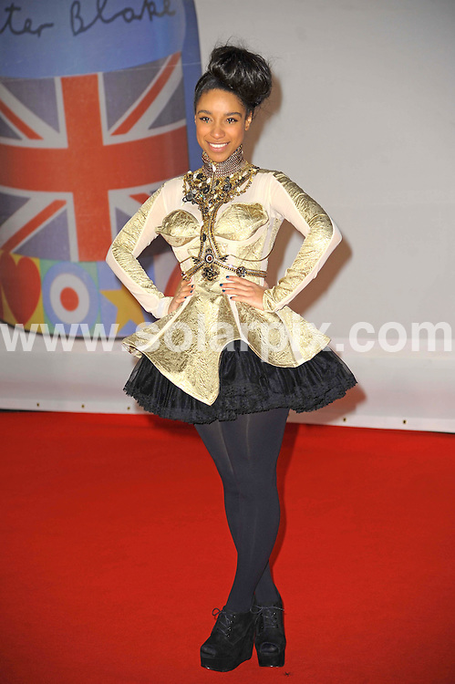 **ALL ROUND PICTURES FROM SOLARPIX.COM**                                             **WORLDWIDE SYNDICATION RIGHTS**                                                                                  Stars arrive at London's O2 Arena for the 2012 Brit Awards..This pic:   Delilah                     .JOB REF:    14495   MSR     DATE:   22.02.12                                                         **MUST CREDIT SOLARPIX.COM OR DOUBLE FEE WILL BE CHARGED**                                                                      **MUST AGREE FEE BEFORE ONLINE USAGE**                               **CALL US ON: +34 952 811 768 or LOW RATE FROM UK 0844 617 7637**