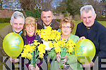 Members of the Killarney branch of the Irish Cancer Society who are preparing for their Coffee morning which will be held in the Killarney Towers Hotel next Friday and also for Daffodil day which will be held on the 26th March