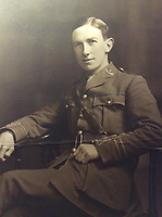 BNPS.co.uk (01202 558833)<br /> Pic: CharterhouseAuction/BNPS<br /> <br /> Captain Angus McKenzie Forsyth<br /> <br /> The heroics of a pint-sized soldier who was part of the so-called Tommy Thumb Regiment can be told over 100 years later after his gripping war diary went up for sale.<br /> <br /> Since Captain Angus McKenzie Forsyth was under 5ft 3ins he fell below the British Army's minimum height requirement in World War One.<br /> <br /> However, such was the necessity to recruit men to fight in the trenches, special 'Bantam' units were formed for vertically-challenged Tommies <br /> <br /> Men who measured between 4ft 10ins and 5ft 3ins were eligible.