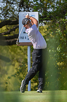 Patrick Reed (USA) watches his tee shot on 10 during day 1 of the WGC Dell Match Play, at the Austin Country Club, Austin, Texas, USA. 3/27/2019.<br /> Picture: Golffile | Ken Murray<br /> <br /> <br /> All photo usage must carry mandatory copyright credit (© Golffile | Ken Murray)