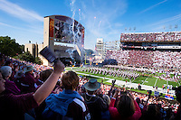 Homecoming Game 2015 vs Louisiana Tech<br />  (photo by Russ Houston / &copy; Mississippi State University)