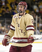 Kevin Hayes (BC - 12) - The Boston College Eagles defeated the Northeastern University Huskies 7-1 in the opening round of the 2012 Beanpot on Monday, February 6, 2012, at TD Garden in Boston, Massachusetts.