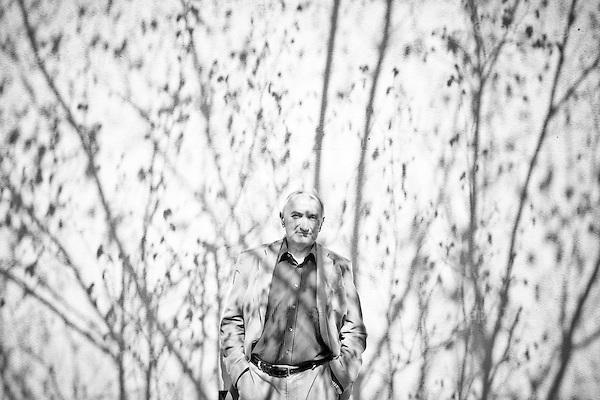 Warsaw 20 April 2009, Poland.<br /> Roch Sulima prof. dr hab.  cultural anthropologist.<br /> <br /> (&copy; Filip Cwik / Napo Images for Newsweek Poland)<br /> <br /> Warszawa 20 kwiecien 2009 Polska.<br /> Roch Sulima prof. dr hab. antropolog kultury.<br /> <br /> (&copy; Filip Cwik / Napo Images dla Newsweek Polska)