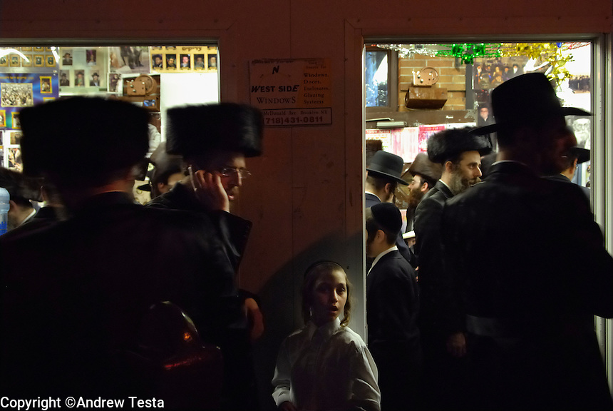USA. Brooklyn. 12th October 2006..Sukkot festival in Borough Park..©Andrew Testa