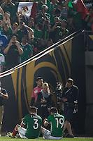 Action photo during the match Mexico vs Jamaica Corresponding to  Group -C- of the America Cup Centenary 2016 at Rose Bowl Stadium.<br /> <br /> Foto de accion durante el partido Mexico vs Jamaica, Correspondiente al Grupo -C- de la Copa America Centenario 2016 en el Estadio Rose Bowl, en la foto: Oribe Peralta celebra su gol de Mexico <br /> <br /> <br /> 09/06/2016/MEXSPORT/Jorge Martinez.